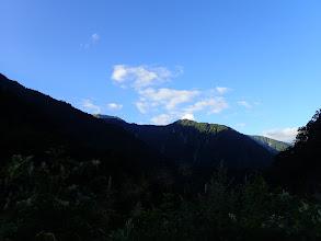 後方を望む(クズバ山)