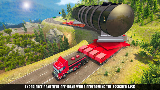 Oversized Load Cargo Truck Simulator 2019 apkpoly screenshots 7