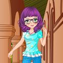 Schoolgirl Dress Up Game icon