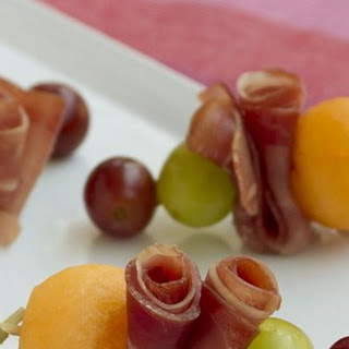 Prosciutto e Melone on a Stick