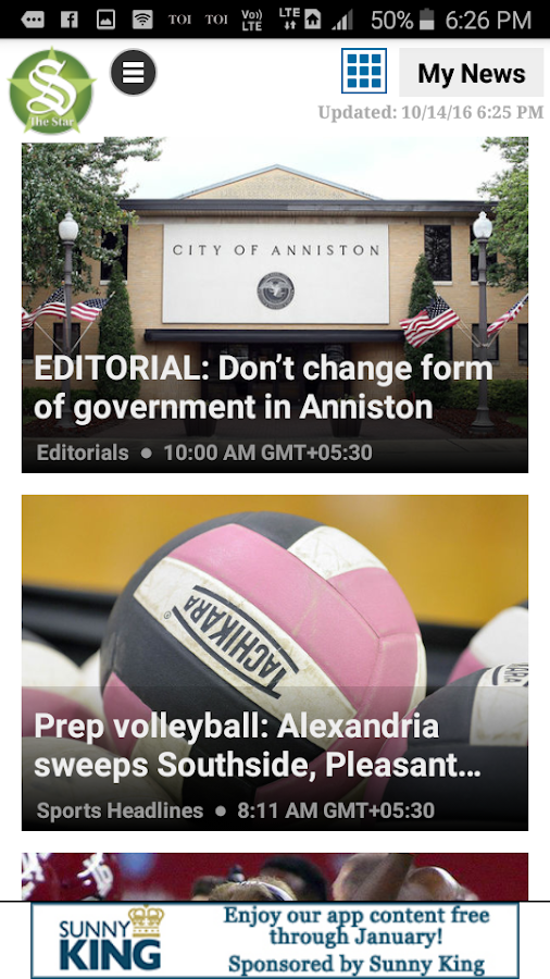The Anniston Star- screenshot