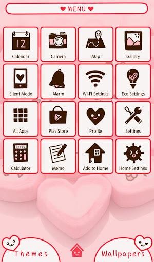 Marshmallow Hearts +HOME Theme 1.0.0 Windows u7528 2