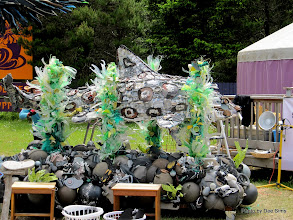Photo: (Year 2) Day 354 - Sculptures from Sea Debris