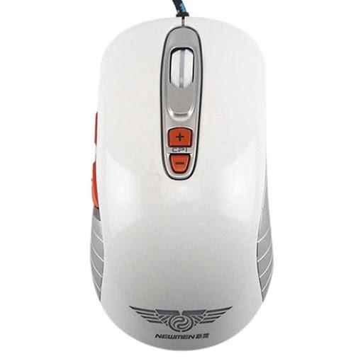 Chuột máy tính Newmen Gaming GX1-Plus trắng