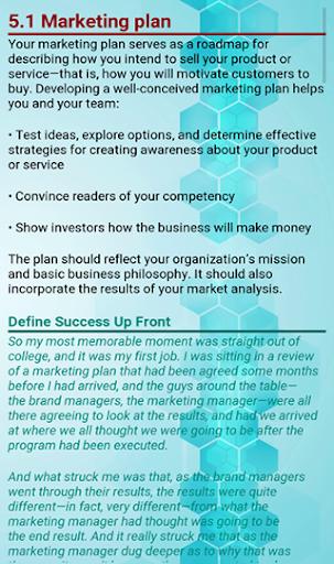 Business Plan Development screenshot 6