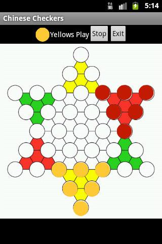 Fast Chinese Checkers