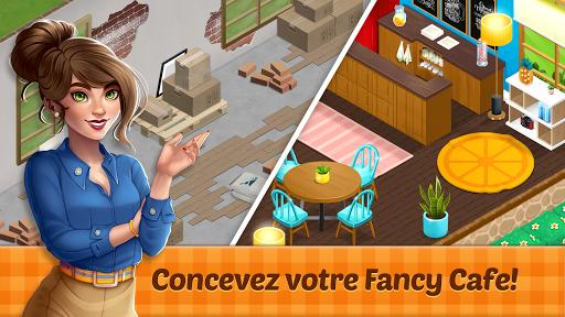 Fancy Cafe - Jeux de décoration et de Restaurant fond d'écran 1