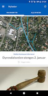 Halden kommune - náhled