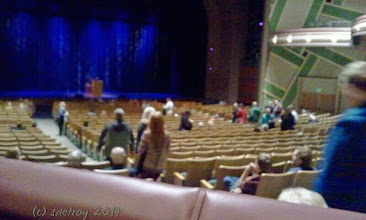 Photo: Grateful for my ticket to see David Sedaris. He is so funny.
