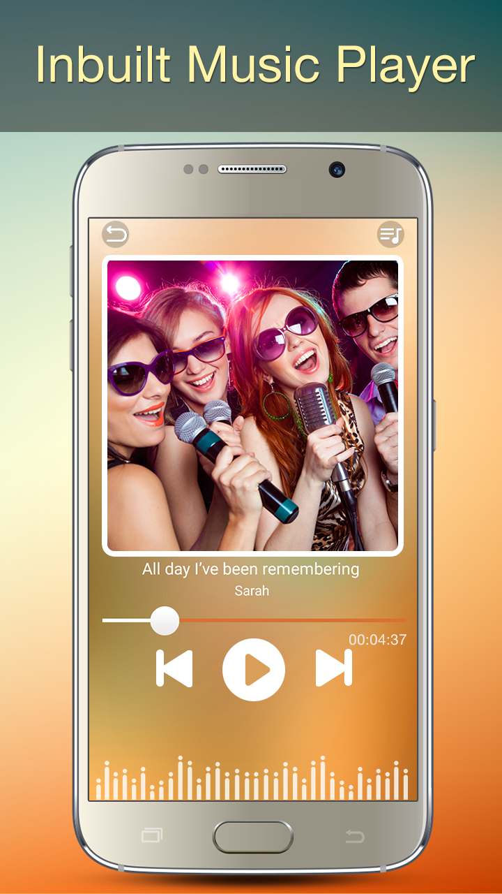Audio MP3 Cutter Mix Converter and Ringtone Maker Screenshot 1