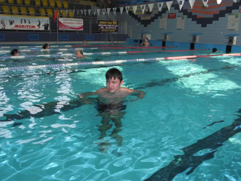 Zajęcia ruchowe na basenie