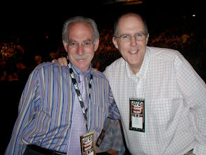 Photo: Marc Ratner and I at the Evans-Machida fight in Las Vegas in 2009.