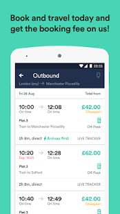 Trainline - UK Times & Tickets - náhled