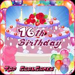 16th birthday cake maker girls Icon