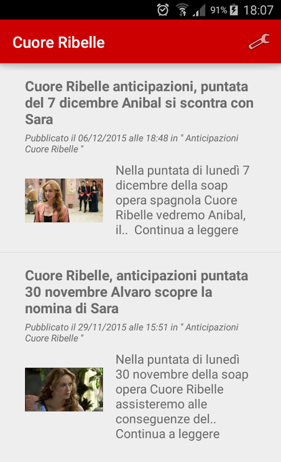 Cuore Ribelle- screenshot