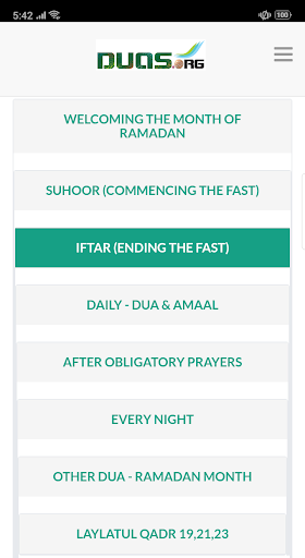 Ramadan Calendar 2020 screenshot 5