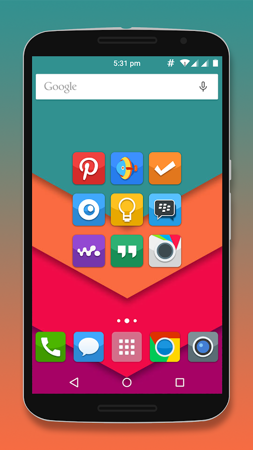 Calendar Icon Android : Horizon icon pack android apps on google play