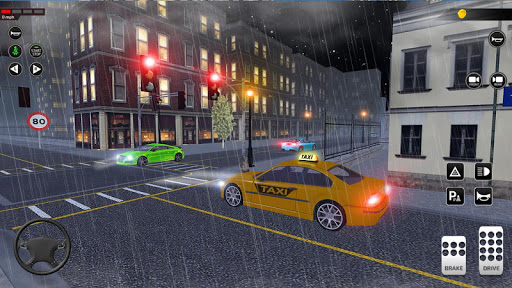 City Taxi Driving simulator: online Cab Games 2020 1.42 screenshots 4