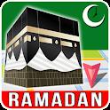 Qibla Locator: Ramadan 2021, Prayer Times, Quran icon