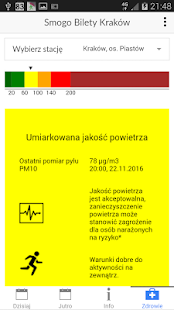Smog tickets Krakow (Poland)- screenshot thumbnail