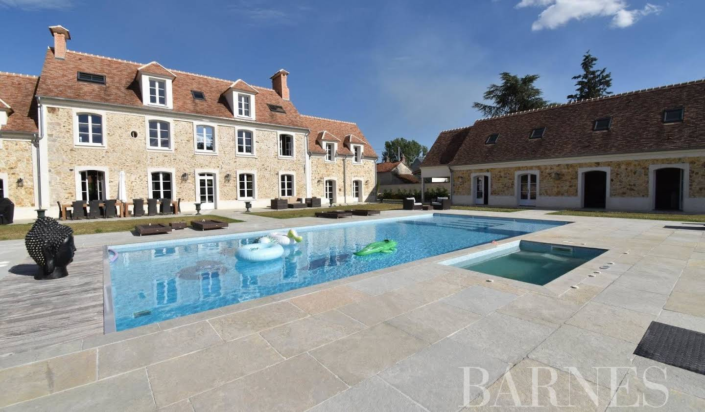 House with pool and terrace Les Bréviaires