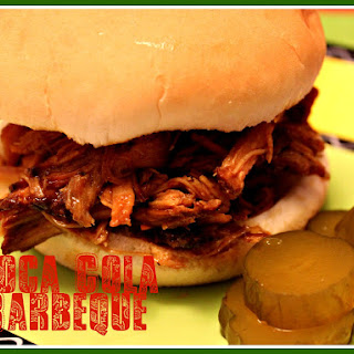 Slow Cooker Pulled Pork in a Coca Cola Barbeque Sauce!
