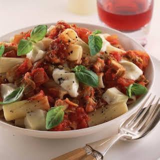 Artichoke and Tomato Pasta.
