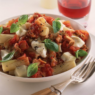 Artichoke and Tomato Pasta.