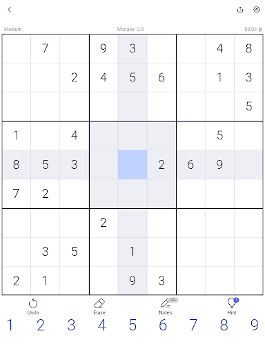 Sudoku - Sudoku puzzle, Brain game, Number game screenshots 11