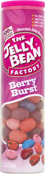 The Jelly Bean Factory Gourmet Jelly Beans - Berry Burst, 100g