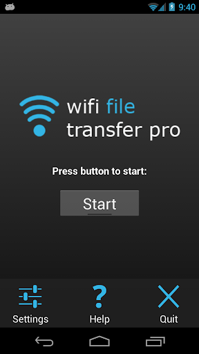 Screenshot for WiFi File Transfer Pro in Hong Kong Play Store