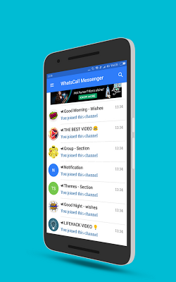 WhatsCall : Chat, Free Call, Stickers - Messenger on Google