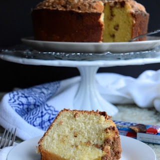 Snickers Crispers Pound Cake.