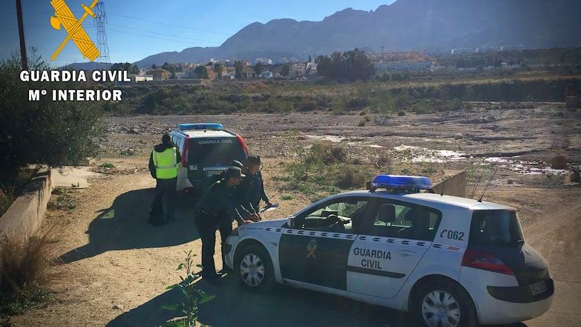 agentes de la Guardia Civil han llevado a cabo con éxito la investigación en Níjar.