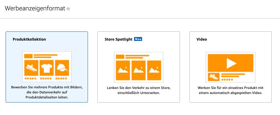 Amazon Sponsored Brands Formate
