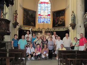 Photo: El Grup en l'Iglesia de Sant Roc en Montpellier