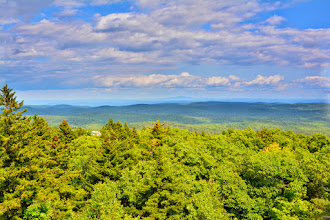 Photo: Nice view from the Mt. Olga firetower at Molly Stark State Park by Bill Steele