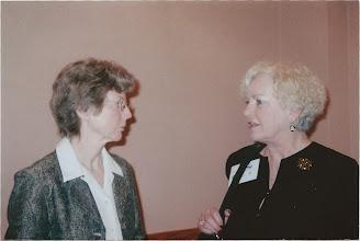 Photo: Judith Howard and Ann Barr