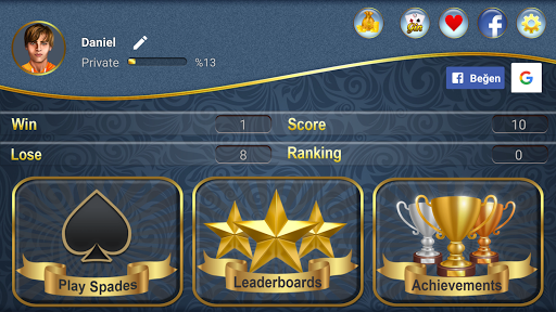 Spades: Card Game filehippodl screenshot 12