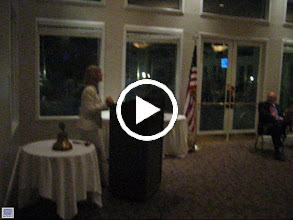 "Video: Assistant District Governor Karen Weiss inducting the Officers of the Rotary Club of DeBary-Deltona for the 2012-2013 Rotary Year - Theme is ""Peace Through Service"" - June 8, 2012 - Our new President is Eric Sanders, President-Elect is Patricia Stephens, Vice-President is Frank Dragoun, Secretary is Joe Alemany, Treasurer is Ray Grimm, Sergeant-at-Arms is Dennis Stark, and Past President is Dennis Robinson. Club Service Director is Blaine Timmer, Community Service Director is Darren Elkind, Vocational Service Director is Dennis Robinson, and International Service Director is John Brim.  - www.DeBaryDeltonaRotary.org"