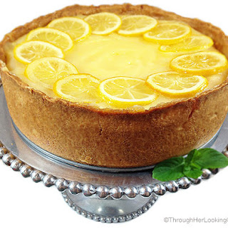 Candied Lemon Cheesecake