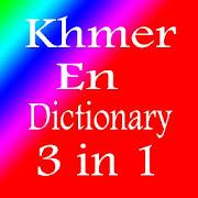 Khmer En Dictionary 3 in 1