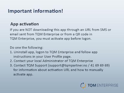 TQM Enterprise - náhled