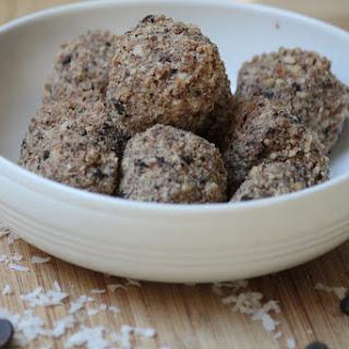 Raw Almond Joy Cookie Bites