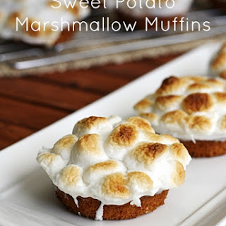 Sweet Potato Marshmallow Muffins