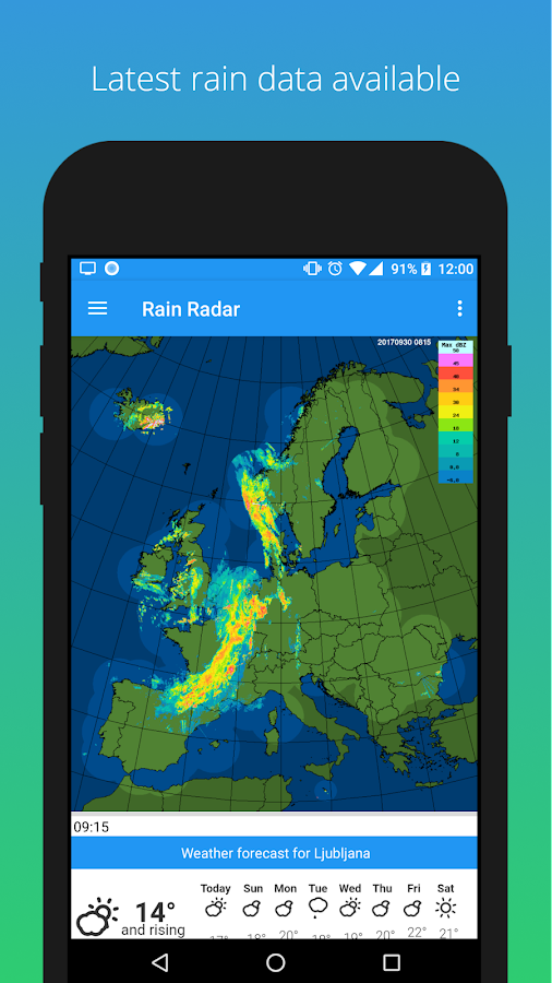 Rain Radar Android Apps On Google Play - Sweden radar map