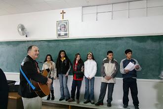 Photo: Chanson en français au collège des Frères à Jérusalem