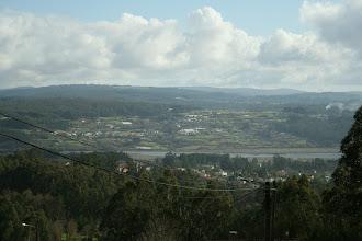 Photo: Vista da ría de Betanzos dende o monte de Santa Marta, parroquia de Babío (2012)