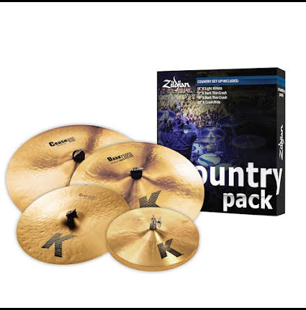 K Zildjian Country Pack - K0801C