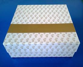 Photo: Caixa Especial (24) com fecho magnético e desmontável.